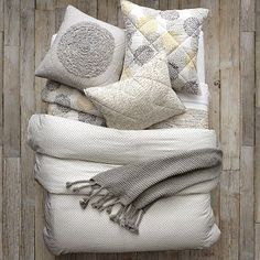 Layered Bed Looks - Seeing Spots on westelm.com