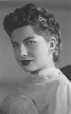 Princess Soraya Esfandiary (1932-2001) the second wife of The Shah of Iran, c. 1950s