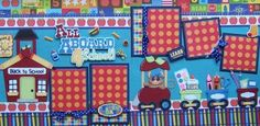 Back to School Boy Girl 2 Premade Scrapbook Pages Paper Piecing for Album | eBay