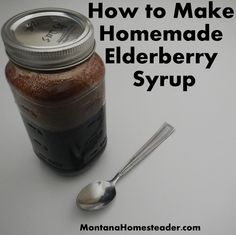 How to Make Homemade Elderberry SyrupElderberry syrup is a natural daily supplement in our household as soon as cold and flu season starts.