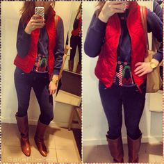 Cute way to wear an ugly Christmas sweater! Christmas Party Outfits, Steve Madden Boots, H&m Jeans, Ugly Christmas Sweater, Copycat, Preppy, Leather Jacket, Fashion Outfits, My Style
