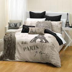How to Wash Paris Comforter Set Paris Room Decor, Paris Rooms, Paris Bedroom, Home Bedroom, Paris Themed Bedrooms, Bedroom Themes, Bedroom Decor, Bedroom Ideas, Paris Bedding