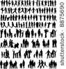 Open library of 600 silhouettes.