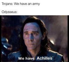 Greek Mythology Humor, Greek And Roman Mythology, Greek Gods, Achilles And Patroclus, Greek Memes, Greek History, Book Memes, Numb, Cinder