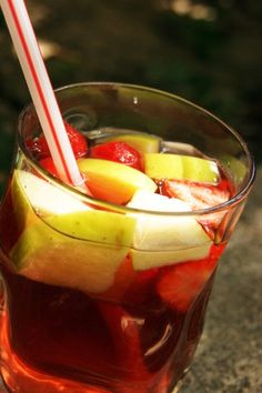 Cocktail de fruits sans alcool