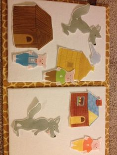 DIY felt flannel board pieces using iron transfer paper Flannel Board Stories, Felt Board Stories, Felt Stories, Flannel Boards, Toddler Fun, Toddler Activities, Sequencing Activities, Kids Fun, Toddler Crafts