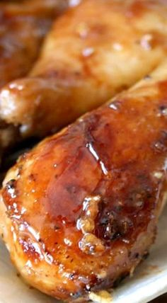 Maple and honey garlic chicken chicken recipes in 2019 Yummy Chicken Recipes, Yum Yum Chicken, Meat Recipes, Cooking Recipes, Yummy Food, Chicken Recepies, Healthy Chicken, Recipies, Honey Garlic Chicken