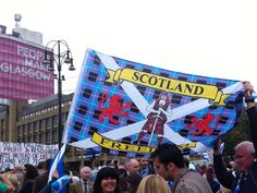 #ScottishReferendum day, Glasgow
