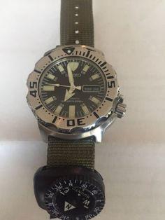Seiko Diver Wrist Watch for Men for sale online Seiko Monster, Seiko Diver, 200m, Diving, Watches For Men, Water, Ebay, Accessories, Black