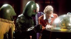 Alpha Centauri, Ice Warrior, and the Doctor: classics all.