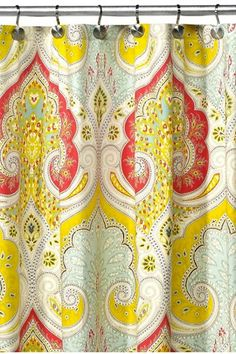Echo Design Jaipur Fabric Shower Curtain 3999 Available At Bed Bath