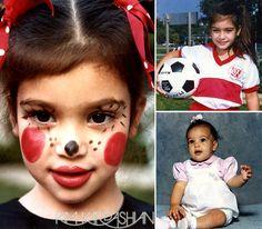 kim kardashian childhood pictures - Google Search