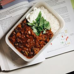 Chilli Sin Carne, Love Food, Ham, Meal Prep, Chili, Food And Drink, Low Carb, Soup, Lunch