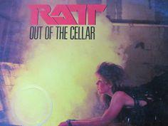 Classic 80s Rock Metal RATT OUT of the CELLAR Vinyl Record Album    $10.00