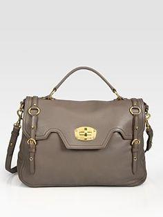 89c6a4a2568 Miu Miu - Cervo Turnlock Flap Satchel Miu Miu Shoes, Fab Bag, Cute Handbags