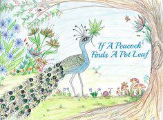 If a Peacock Finds a Pot Leaf: Children's Book Illustrator Geneva Carman