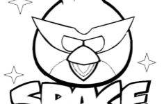 Angry Birds Space Walkthrough: Angry Birds Space Coloring Pages