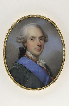 A portrait of Louis the Dauphin (father of Louis XVI) by Marie Victoire Jaquotot, circa 1819