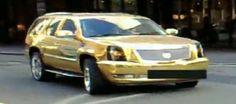 Cadillac Escalade El-Hadji Diouf goud