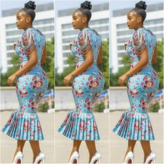 Très Belle Ankara Styles To Rock This Season - AfroCosmopolitan African Fashion Ankara, Latest African Fashion Dresses, African Dresses For Women, African Print Dresses, African Print Fashion, Africa Fashion, African Attire, African Wear, Ghanaian Fashion