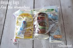 Helping Hand: Blessing Bags for the Homeless