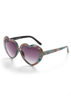 ModCloth heart sunglasses #minkpink #nastygal