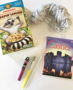 """33 Likes, 3 Comments - JEeD (@momducator) on Instagram: """"What We Are Reading Wednesday: Castle compliments of #usbornebooks ! After reading this we created…"""""""