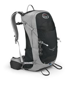 more hiking backpack, less commuter backpack (can it take a laptop?), but still carry on friendly (love compression straps)