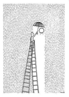 The poetic and inspiring illustrations of Troche - Cultura Inquieta- # cultura . - The poetic and inspiring illustrations of Troche – Cultura Inquieta- # cultura - Art Drawings Sketches Simple, Pencil Art Drawings, Doodle Drawings, Easy Drawings, Drawings With Sharpies, Drawing Tips, Drawing Hair, Drawing Drawing, Drawing Faces