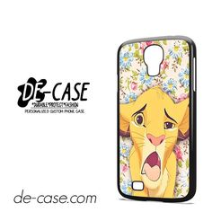 Simba Making Face DEAL-9603 Samsung Phonecase Cover For Samsung Galaxy S4 / S4 Mini