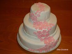 """Elij-Cooking: Торта""""Цветна феерия"""""""