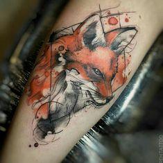 Geometric Tattoo: Get Inspired by This Style - tatoo - Wolf Tattoos, Animal Tattoos, Black Tattoos, Tatoos, Neue Tattoos, Body Art Tattoos, Tattoo Drawings, Sleeve Tattoos, Tattoo Ink