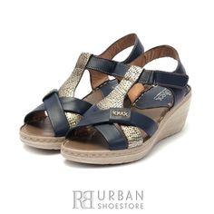Sandale din piele naturala Leofex- 214 Blue Box