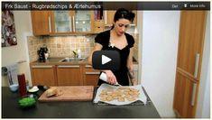 Rugbrødschips & Ærtehumus (Video)