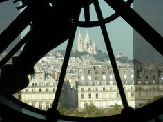 View from my favorite museum in the world Musée d'Orsay. The movie Hugo reminded me of this picture we took in Paris : )