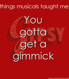 Life lessons from musicals.
