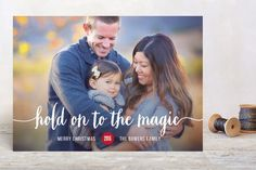 Magical Holiday Photo Cards by Susan Brown at minted.com