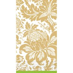 Case of Victoria Damask Green Guest Towels | $83.40 for 180
