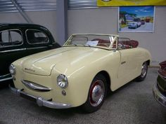 PANHARD Dyna X87 Junior cabriolet 1953 Besançon (1)