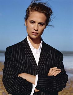 Alicia Vikander - Vogue UK