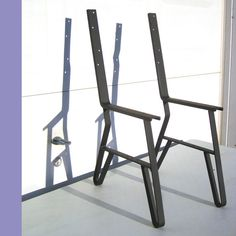 Metal Leg Set, For Park Or Garden Long Wooden Bench with Back,Table Chair Frame Unfinished