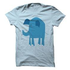 Blue Elephant Shirt, Order HERE ==> https://www.sunfrog.com/Funny/Blue-Elephant-LightBlue.html?8273 #elephantlovers #ilovemyelephant