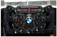 9. Volante de un coche de Formula 1.