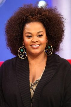 Famous Black African American Female Singers with Natural Hair: Jill Scott