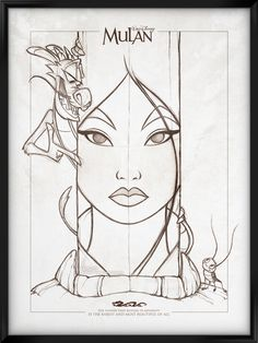 Walt Disney's Signature Collection - MULAN by davidkawena.deviantart.com on @deviantART
