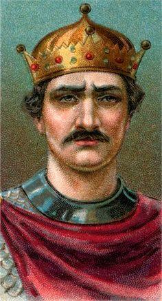 KING WILLIAM THE CONQUEROR PORTRAIT