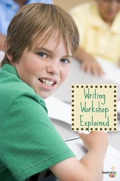 what to expect in a writing workshop- and why it's the best way for kids to learn writing