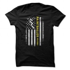 Paintballer T Shirts, Hoodies, Sweatshirts. GET ONE ==> https://www.sunfrog.com/Hobby/Paintballer-93543470-Guys.html?41382