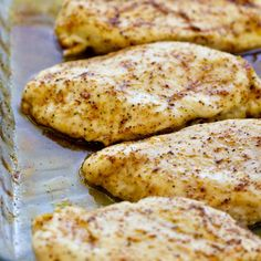 Quick and easy baked chicken breast recipes Good Food, Yummy Food, Tasty, Cooking Recipes, Healthy Recipes, Kitchen Recipes, Healthy Meals, Keto Recipes, Think Food