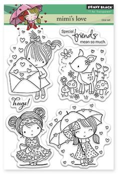 Penny Black clear stamps, choose from 5 different styles Art Drawings For Kids, Drawing For Kids, Colouring Pages, Coloring Books, Penny Black Stamps, Kawaii Doodles, Cartoon Sketches, Digi Stamps, Coloring For Kids
